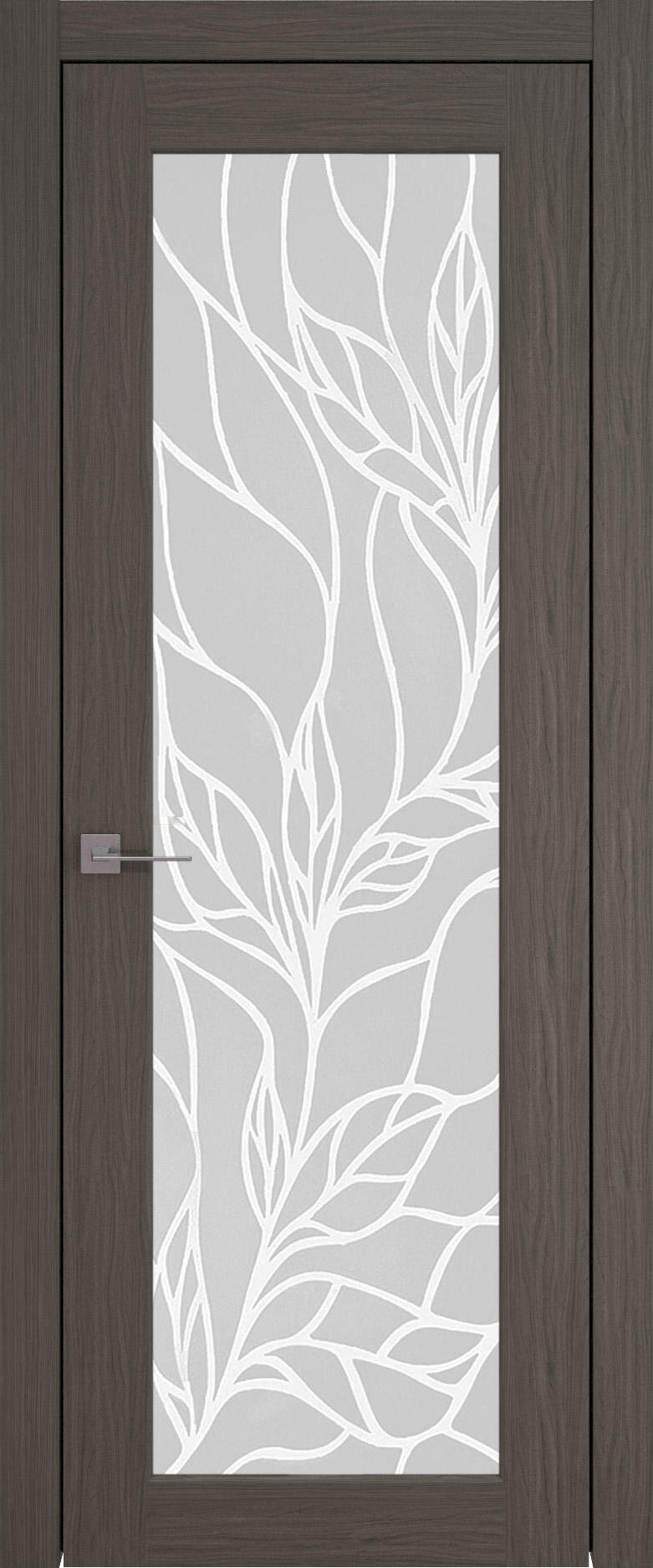 Pianta цвет - Дуб графит Со стеклом (ДО)