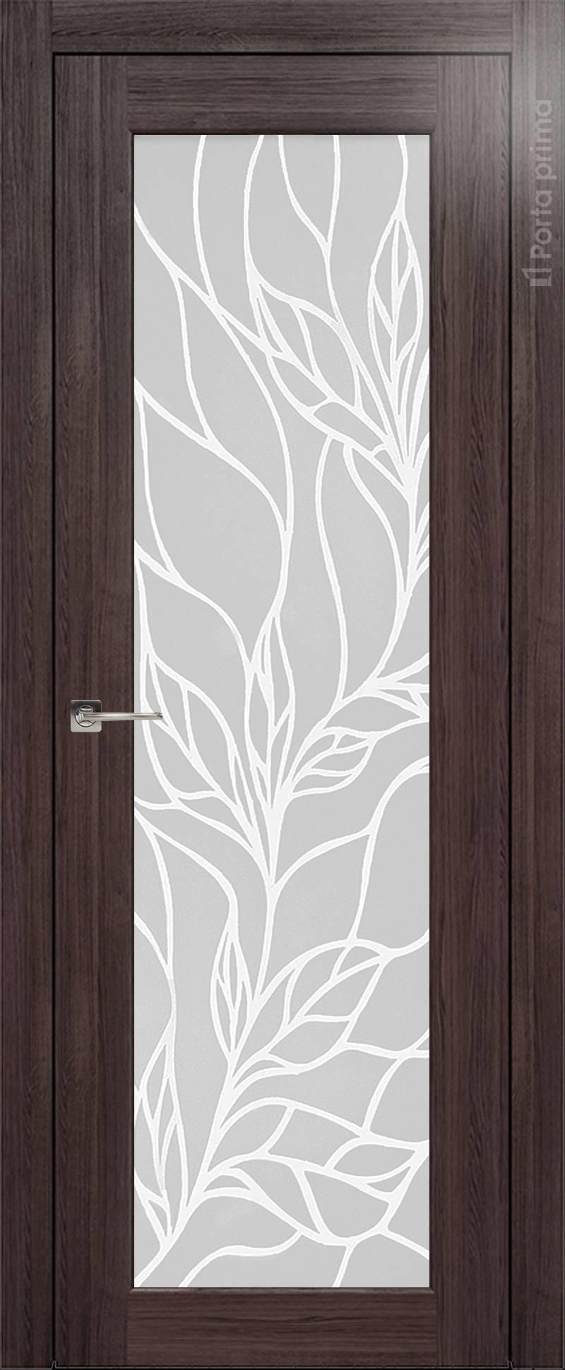 Pianta цвет - Венге Нуар Со стеклом (ДО)