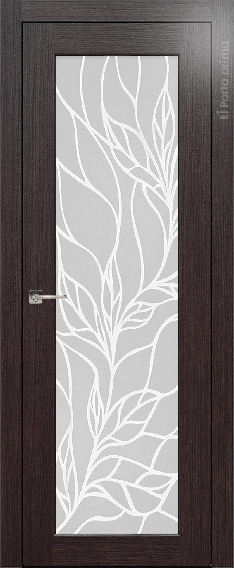 Pianta цвет - Венге Шоколад Со стеклом (ДО)