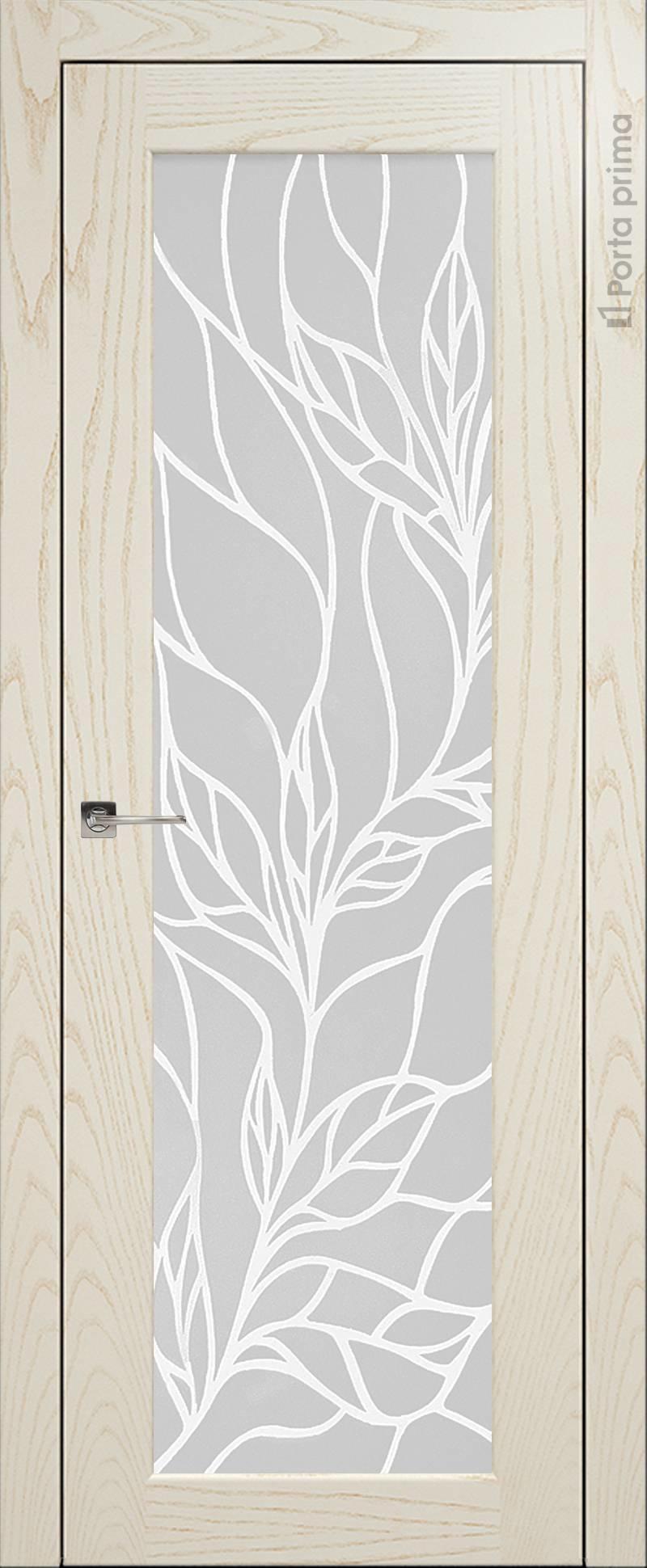 Pianta цвет - Бежевый ясень Со стеклом (ДО)