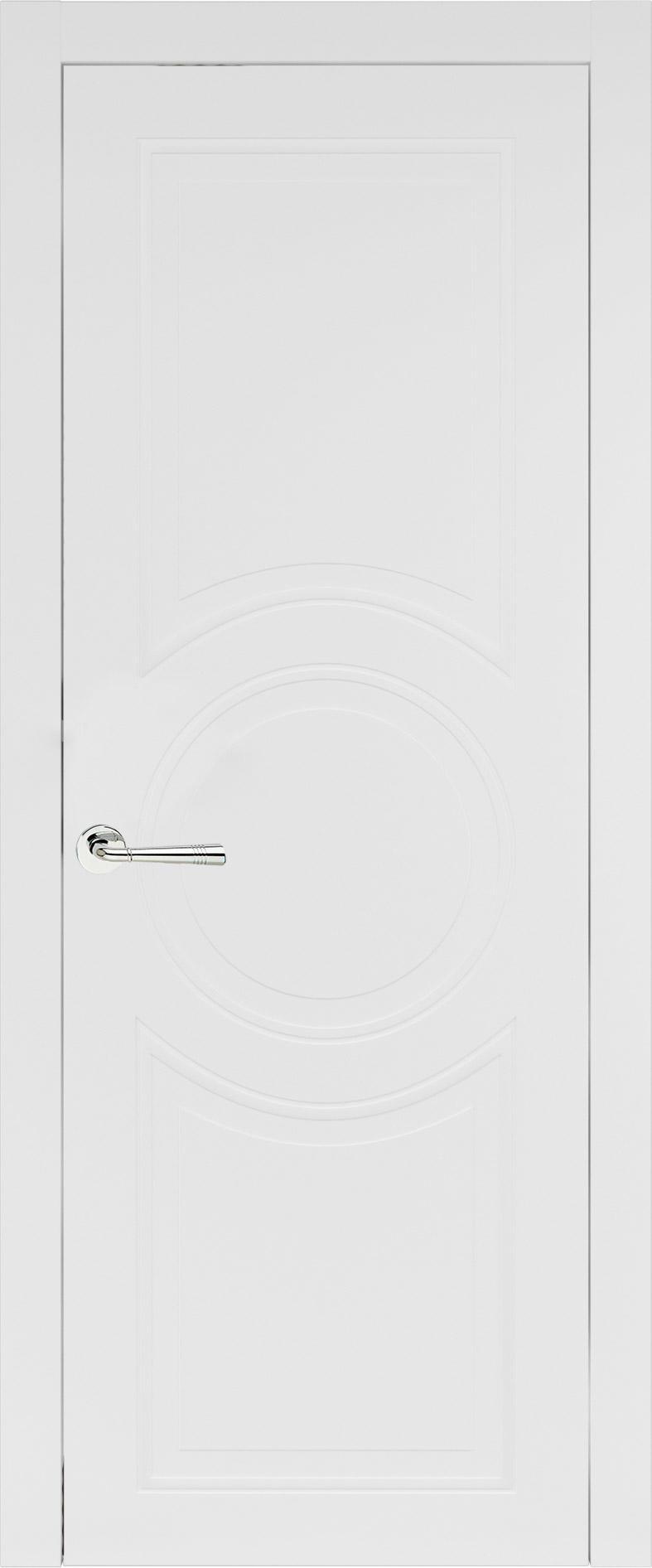 Ravenna Neo Classic цвет - Белая эмаль (RAL 9003) Без стекла (ДГ)