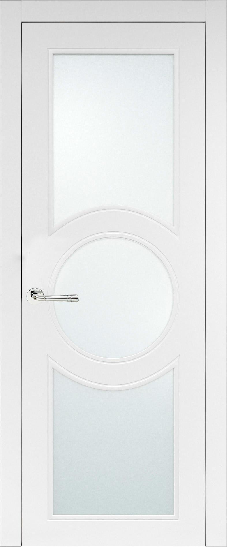 Ravenna Neo Classic цвет - Белая эмаль (RAL 9003) Со стеклом (ДО)