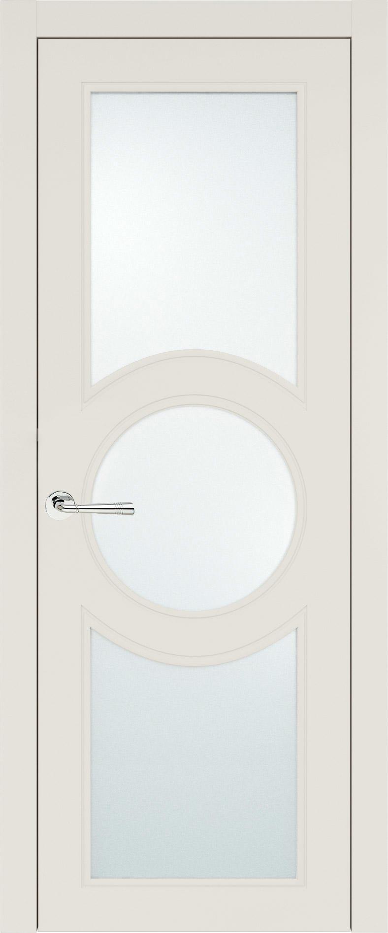 Ravenna Neo Classic цвет - Бежевая эмаль (RAL 9010) Со стеклом (ДО)