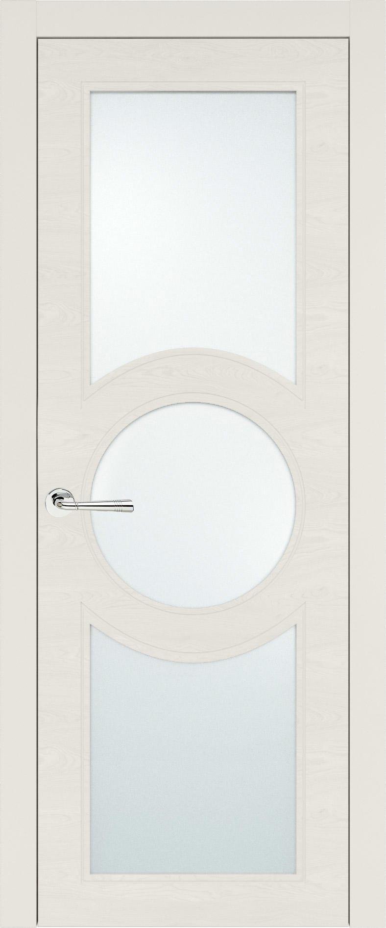 Ravenna Neo Classic цвет - Бежевая эмаль по шпону (RAL 9010) Со стеклом (ДО)