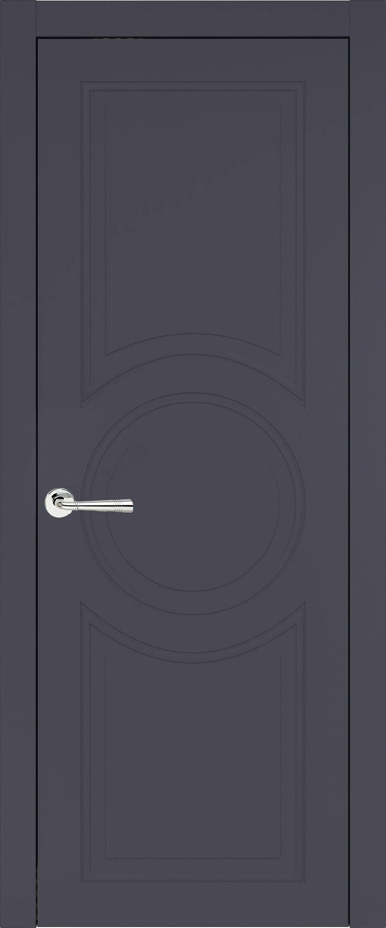 Ravenna Neo Classic цвет - Графитово-серая эмаль (RAL 7024) Без стекла (ДГ)