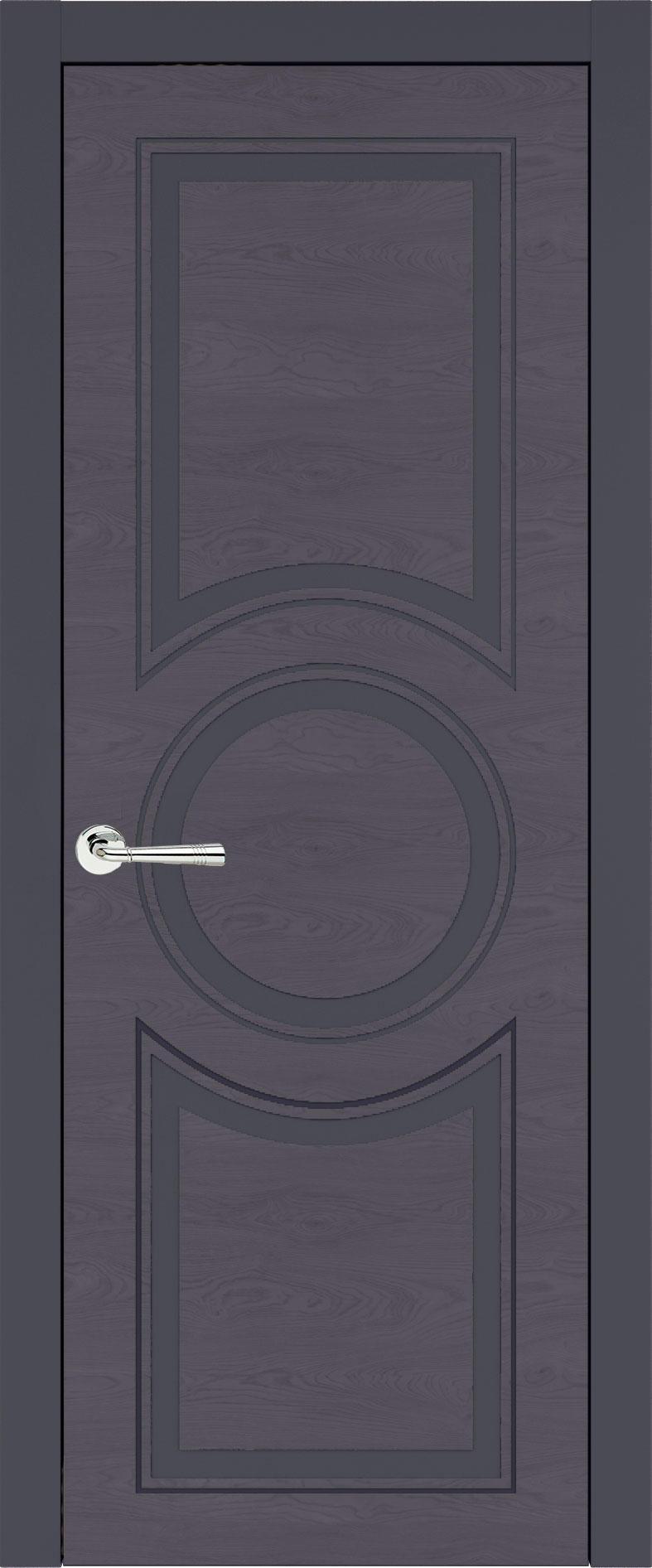 Ravenna Neo Classic цвет - Графитово-серая эмаль по шпону (RAL 7024) Без стекла (ДГ)