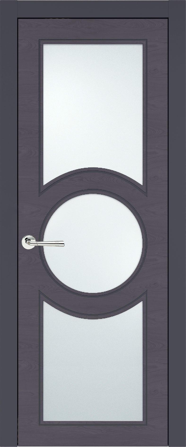 Ravenna Neo Classic цвет - Графитово-серая эмаль по шпону (RAL 7024) Со стеклом (ДО)