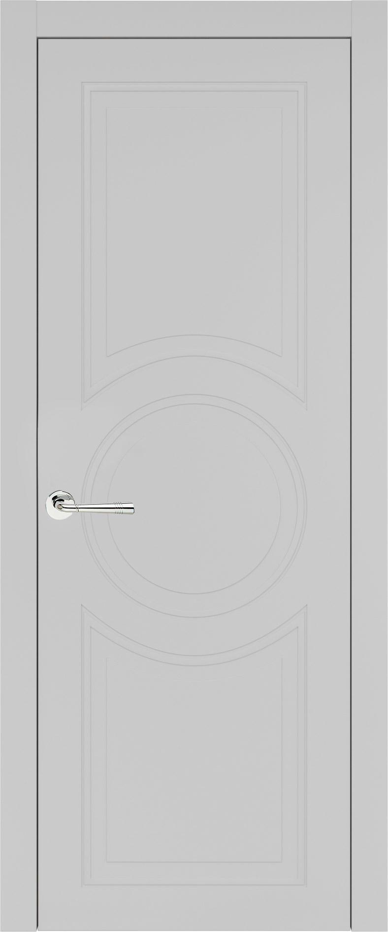 Ravenna Neo Classic цвет - Серая эмаль (RAL 7047) Без стекла (ДГ)