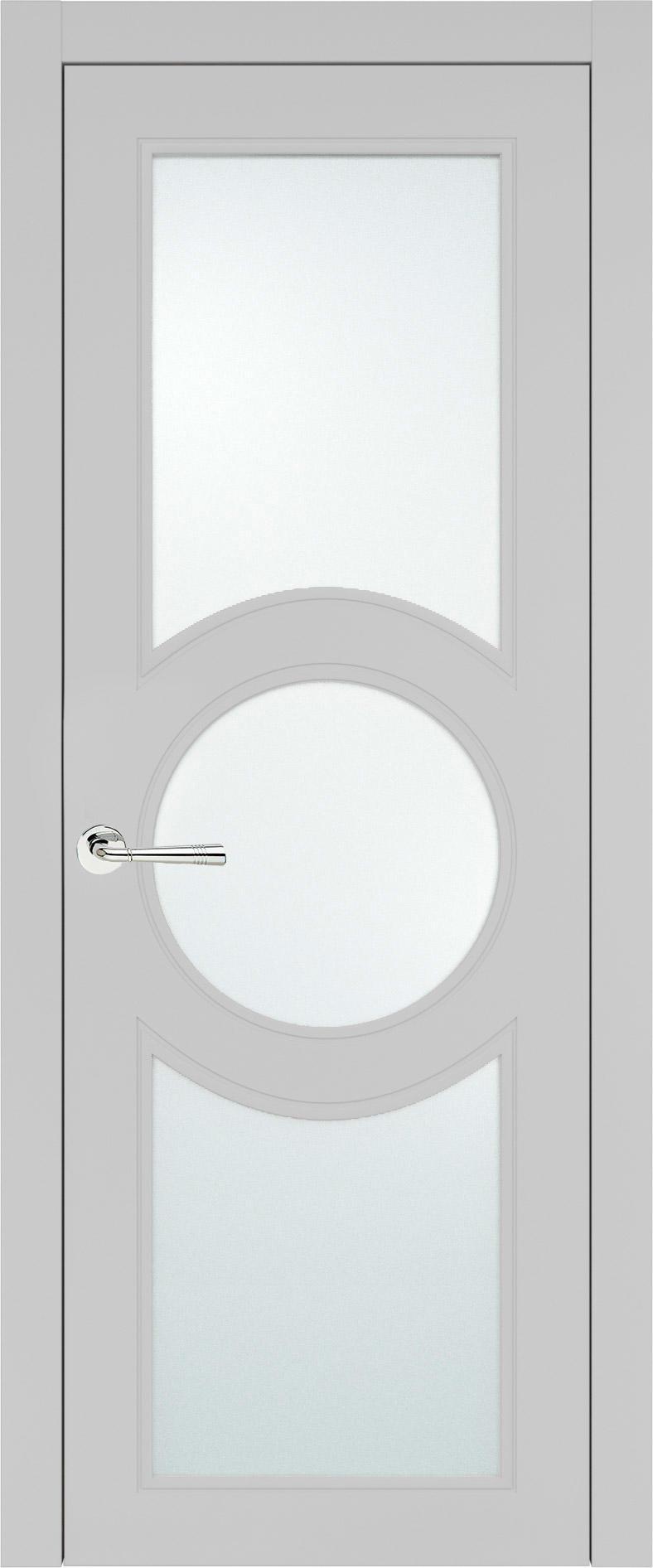 Ravenna Neo Classic цвет - Серая эмаль (RAL 7047) Со стеклом (ДО)