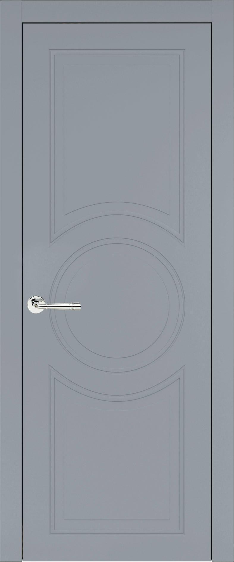 Ravenna Neo Classic цвет - Серебристо-серая эмаль (RAL 7045) Без стекла (ДГ)