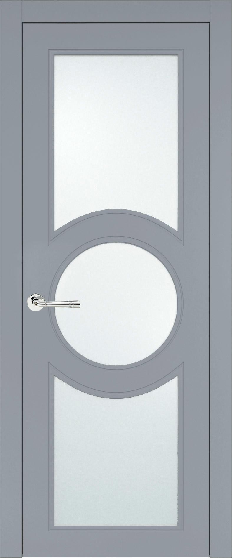 Ravenna Neo Classic цвет - Серебристо-серая эмаль (RAL 7045) Со стеклом (ДО)