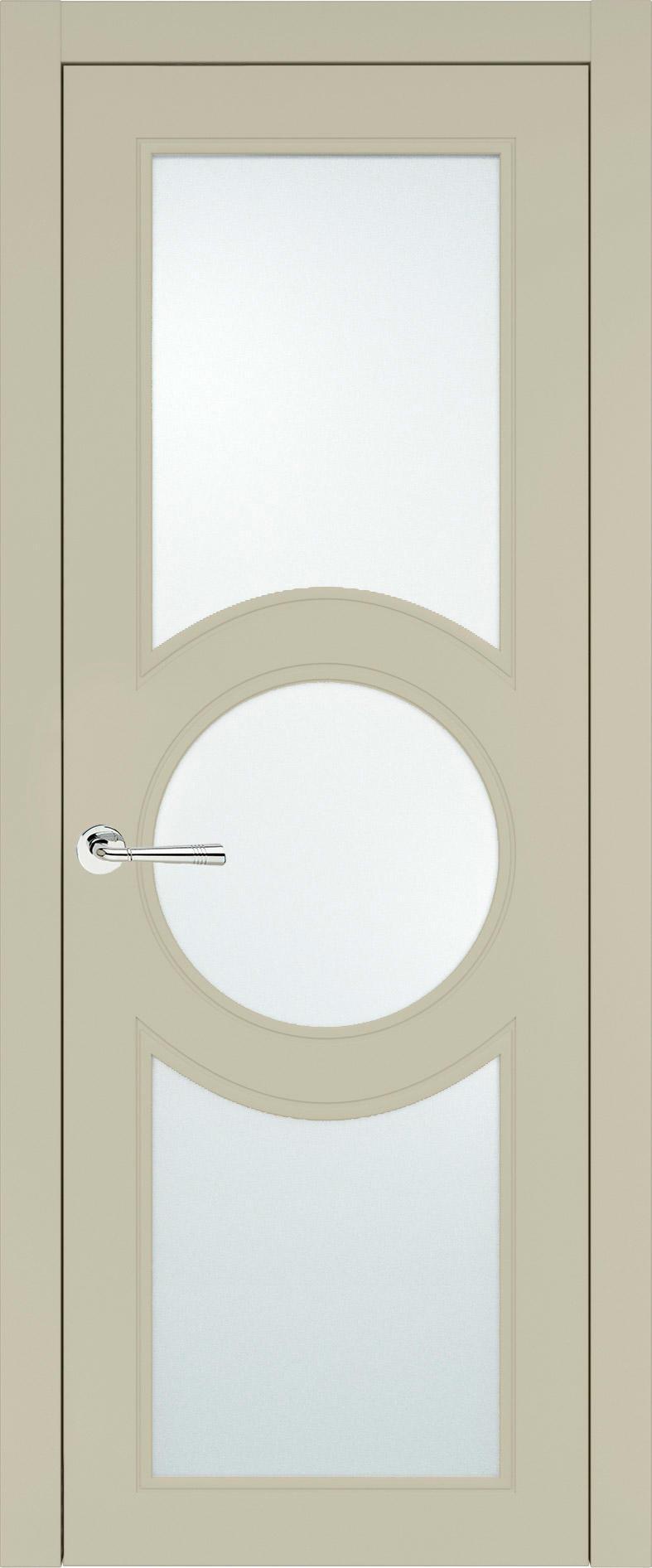 Ravenna Neo Classic цвет - Серо-оливковая эмаль (RAL 7032) Со стеклом (ДО)