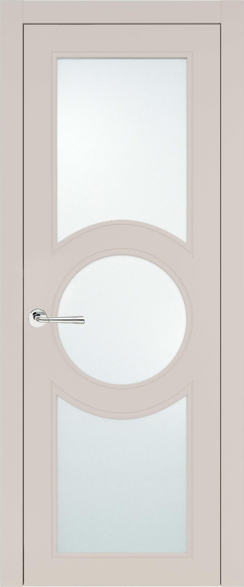 Ravenna Neo Classic цвет - Жемчужная эмаль (RAL 1013) Со стеклом (ДО)
