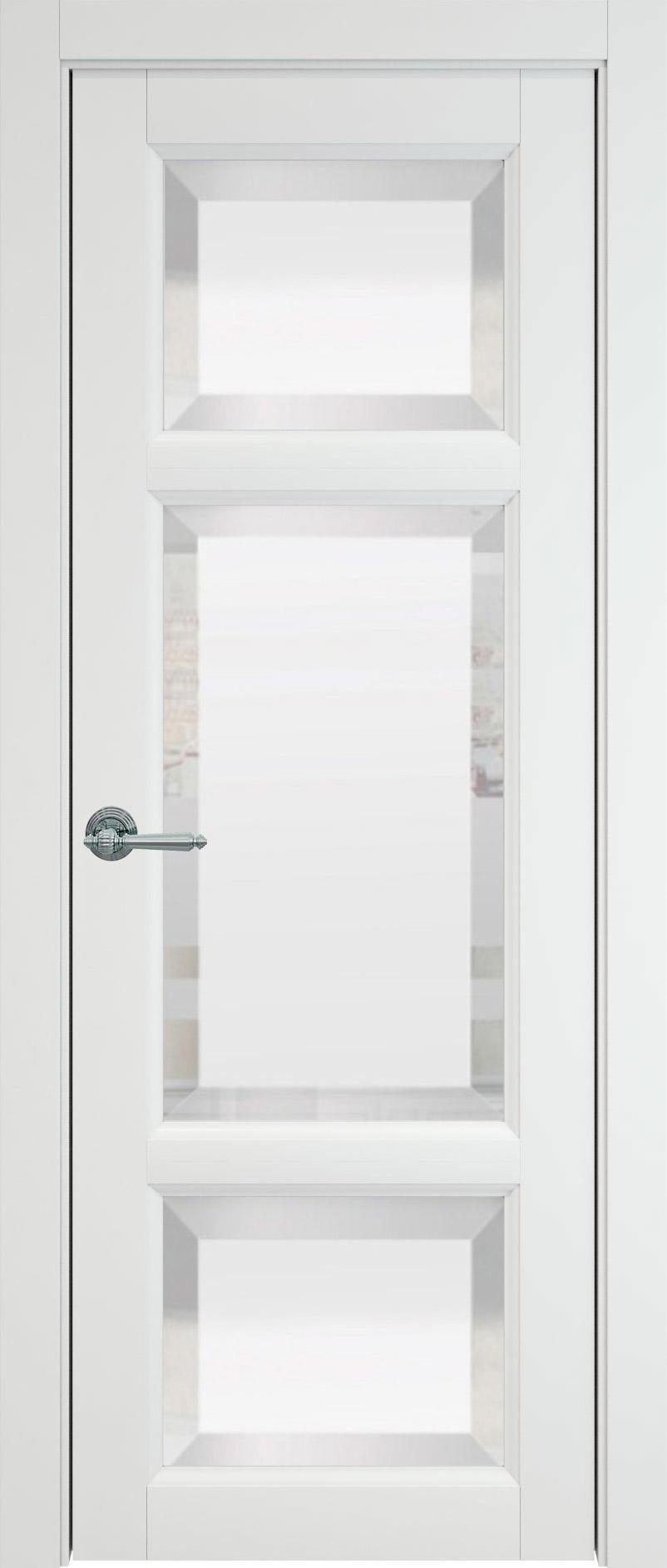 Siena цвет - Белая эмаль (RAL 9003) Со стеклом (ДО)
