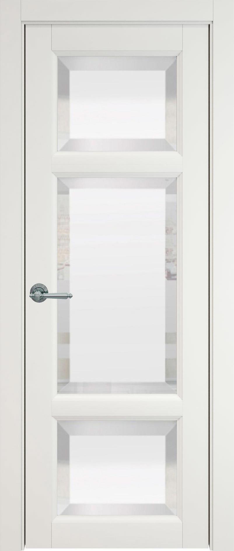 Siena цвет - Бежевая эмаль (RAL 9010) Со стеклом (ДО)
