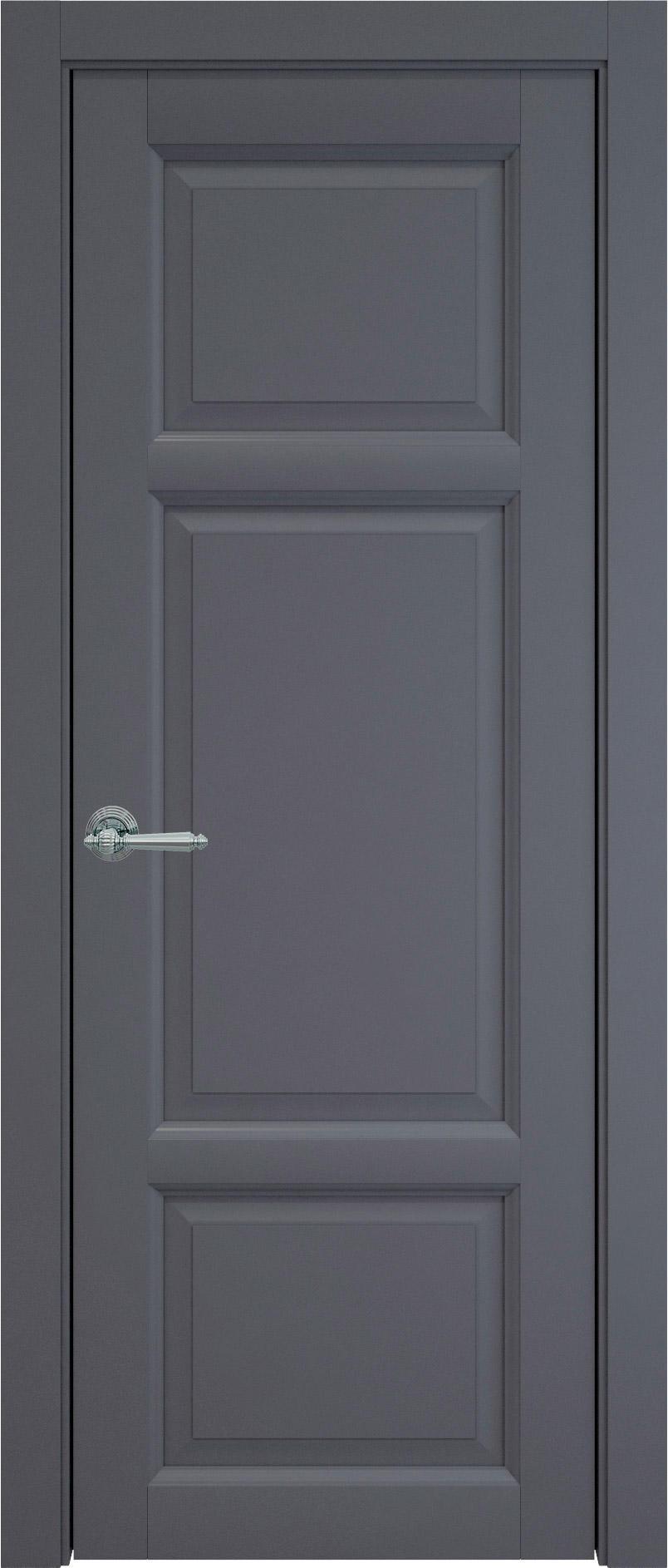 Siena цвет - Графитово-серая эмаль (RAL 7024) Без стекла (ДГ)