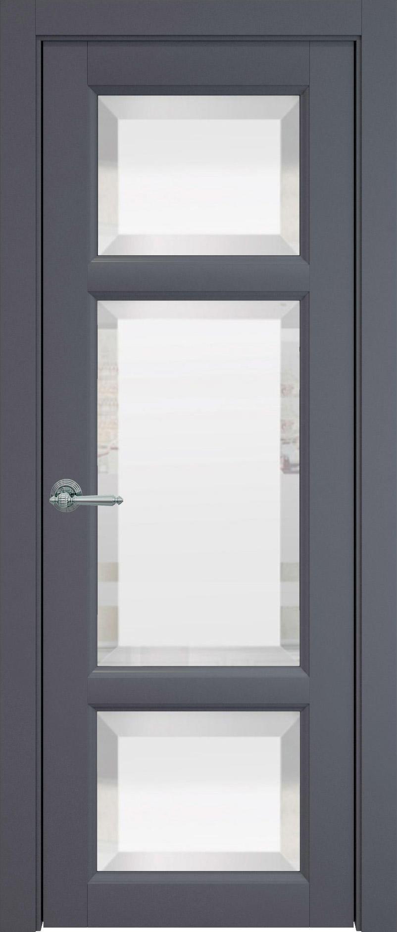 Siena цвет - Графитово-серая эмаль (RAL 7024) Со стеклом (ДО)