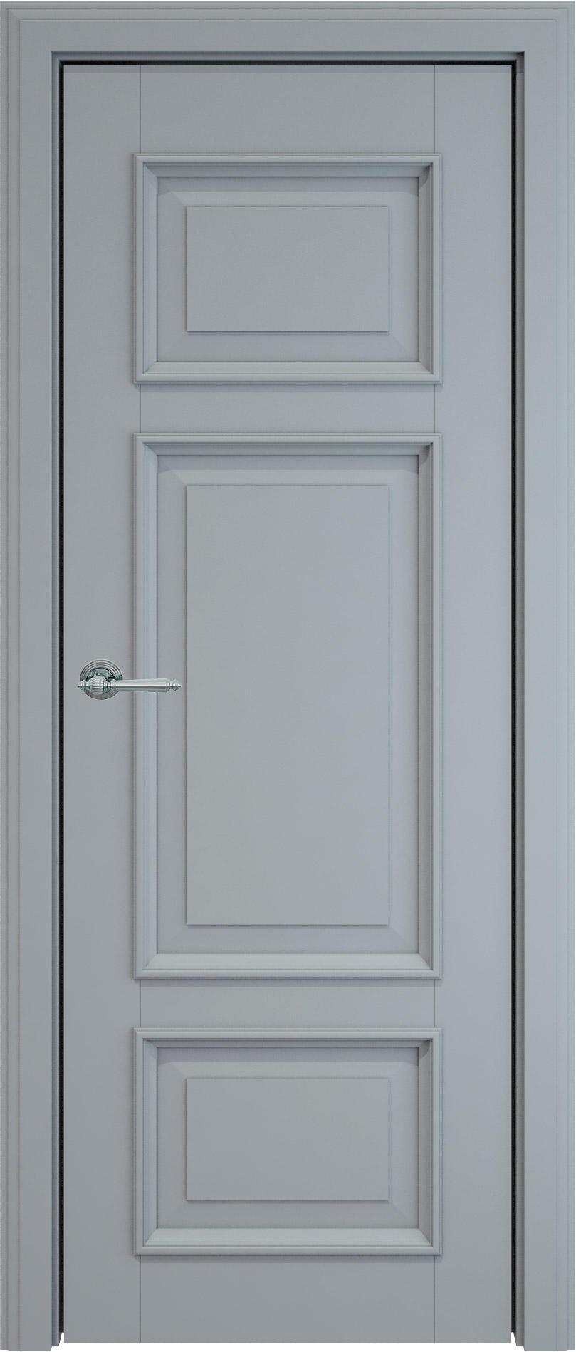 Siena LUX цвет - Серебристо-серая эмаль (RAL 7045) Без стекла (ДГ)