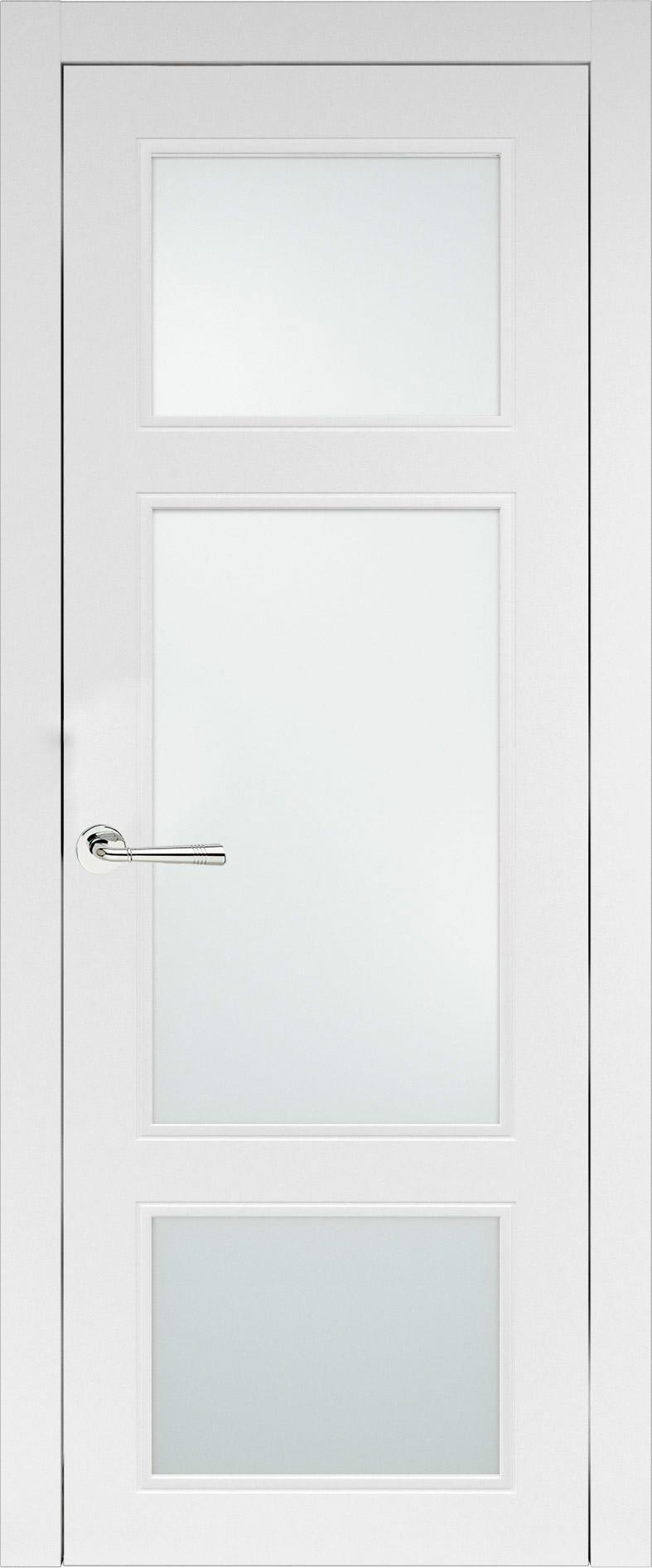 Siena Neo Classic цвет - Белая эмаль (RAL 9003) Со стеклом (ДО)