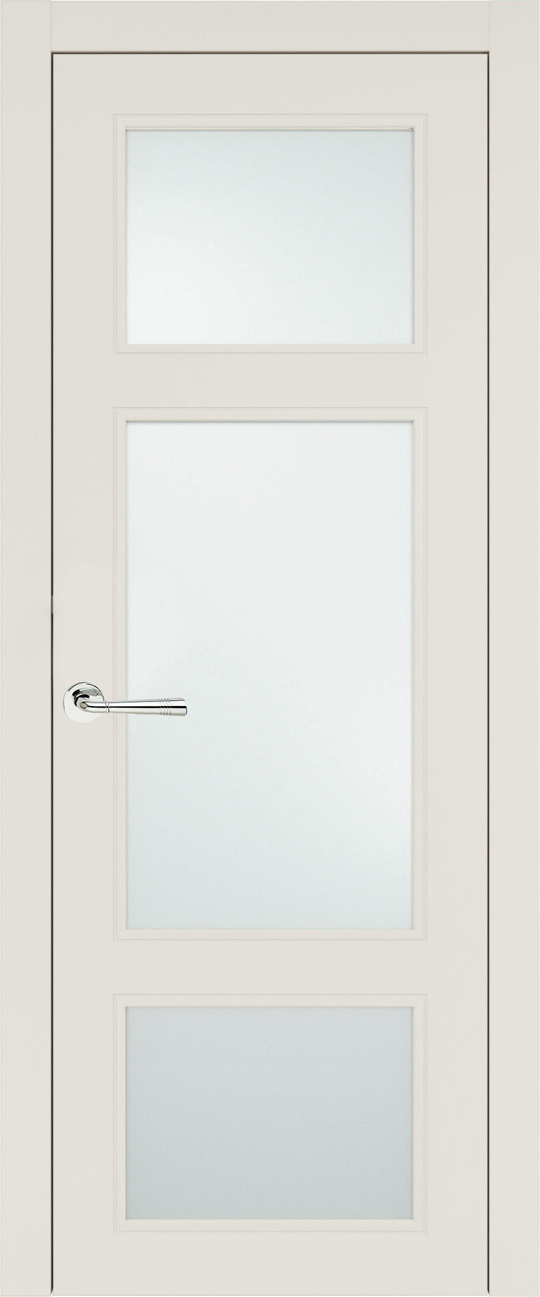 Siena Neo Classic цвет - Бежевая эмаль (RAL 9010) Со стеклом (ДО)