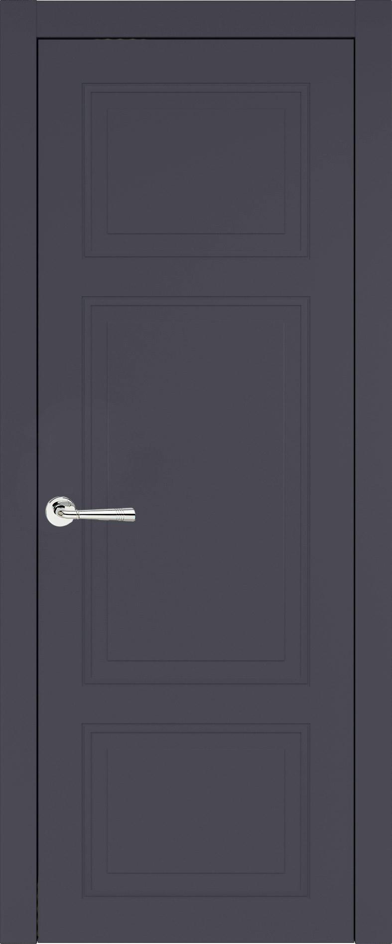 Siena Neo Classic цвет - Графитово-серая эмаль (RAL 7024) Без стекла (ДГ)
