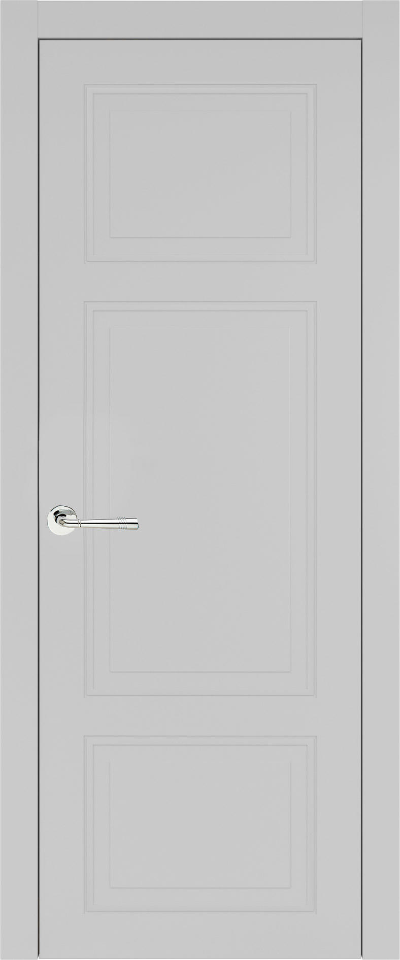 Siena Neo Classic цвет - Серая эмаль (RAL 7047) Без стекла (ДГ)