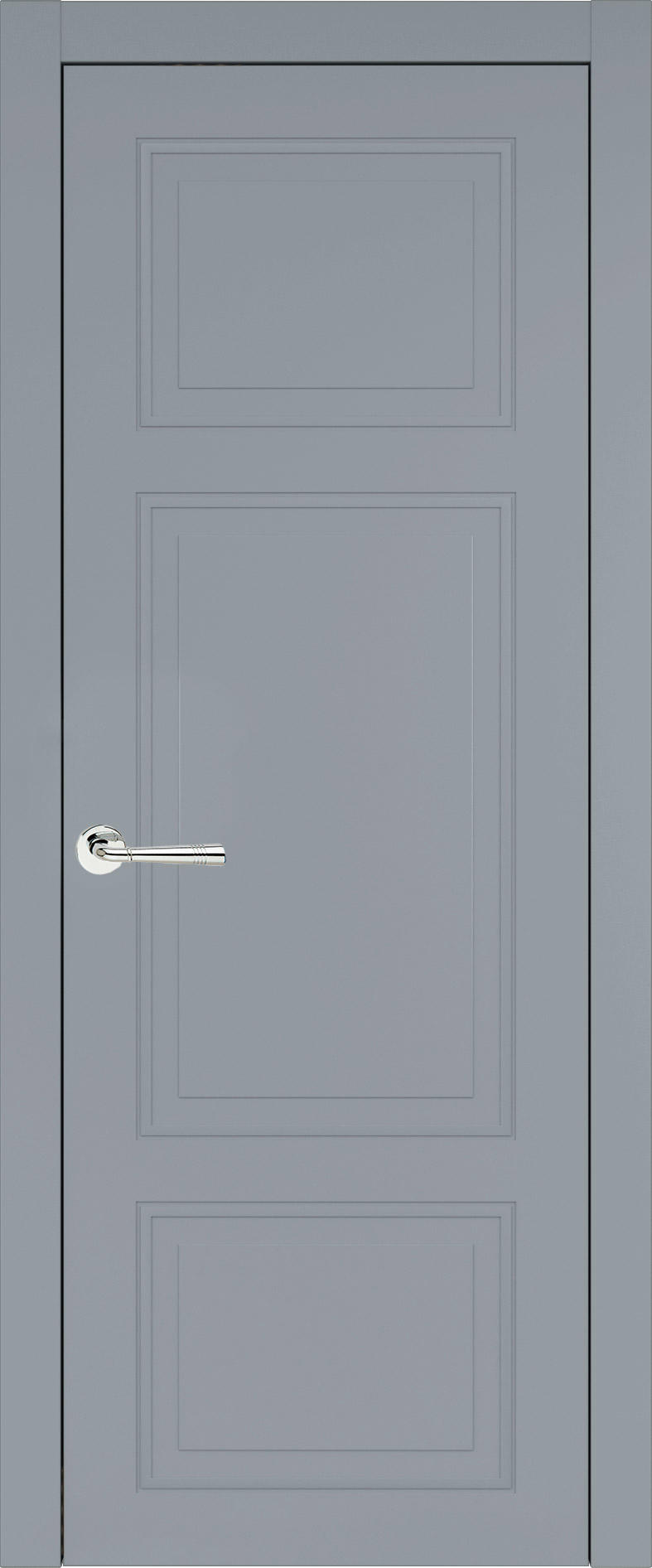 Siena Neo Classic цвет - Серебристо-серая эмаль (RAL 7045) Без стекла (ДГ)
