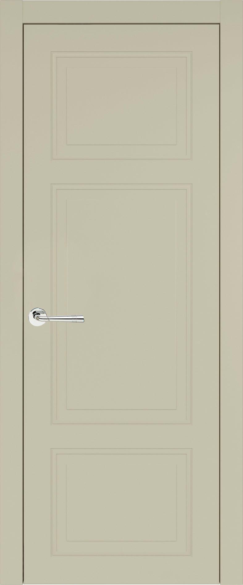 Siena Neo Classic цвет - Серо-оливковая эмаль (RAL 7032) Без стекла (ДГ)
