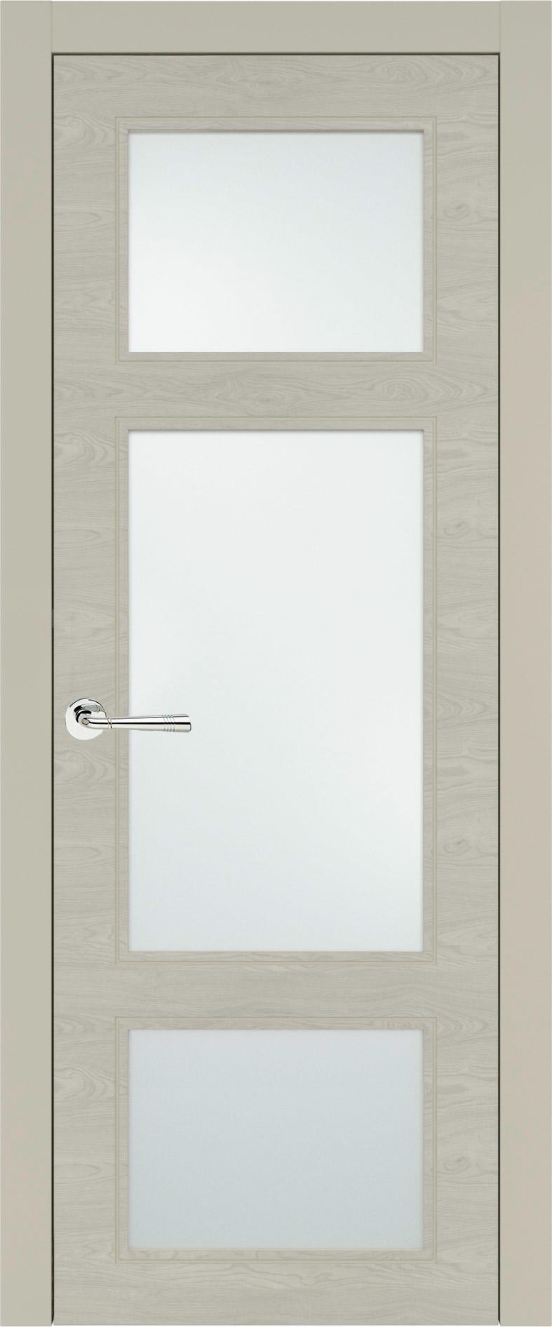 Siena Neo Classic цвет - Серо-оливковая эмаль по шпону (RAL 7032) Со стеклом (ДО)