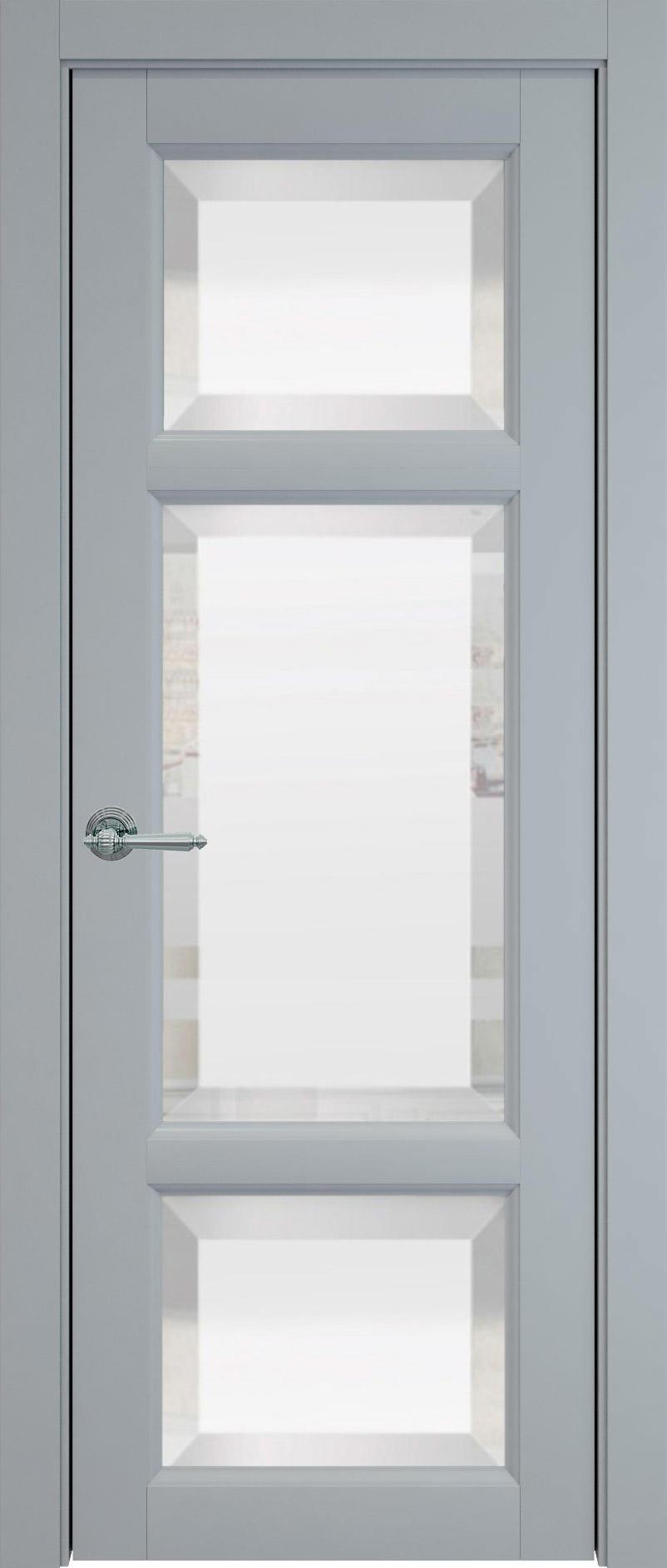 Siena цвет - Серебристо-серая эмаль (RAL 7045) Со стеклом (ДО)