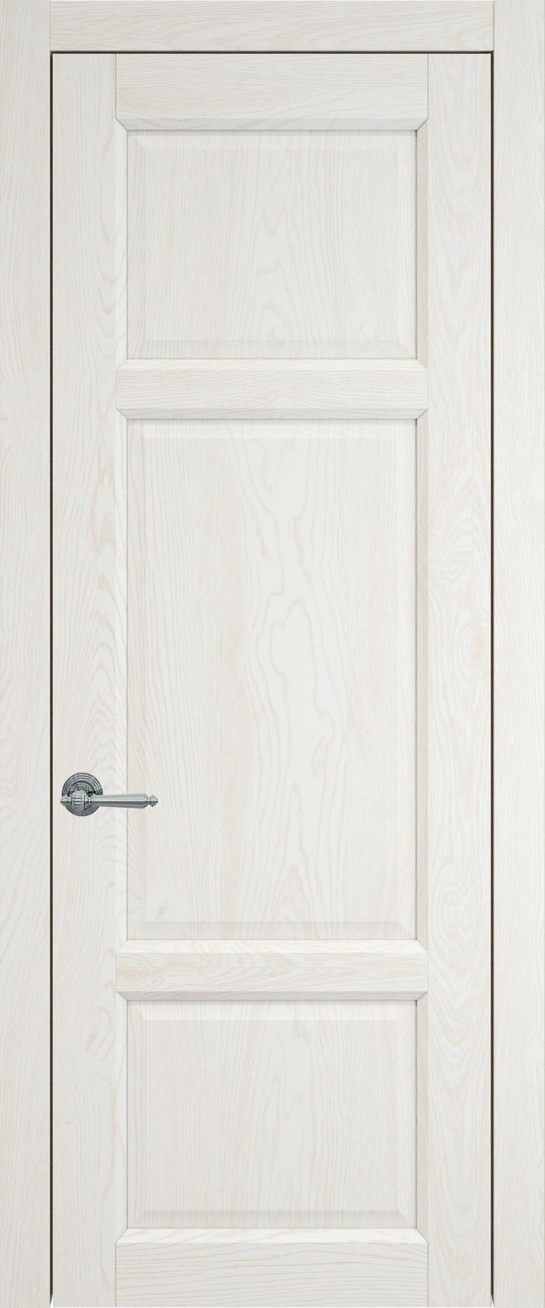 Siena цвет - Белый ясень (шпон) Без стекла (ДГ)