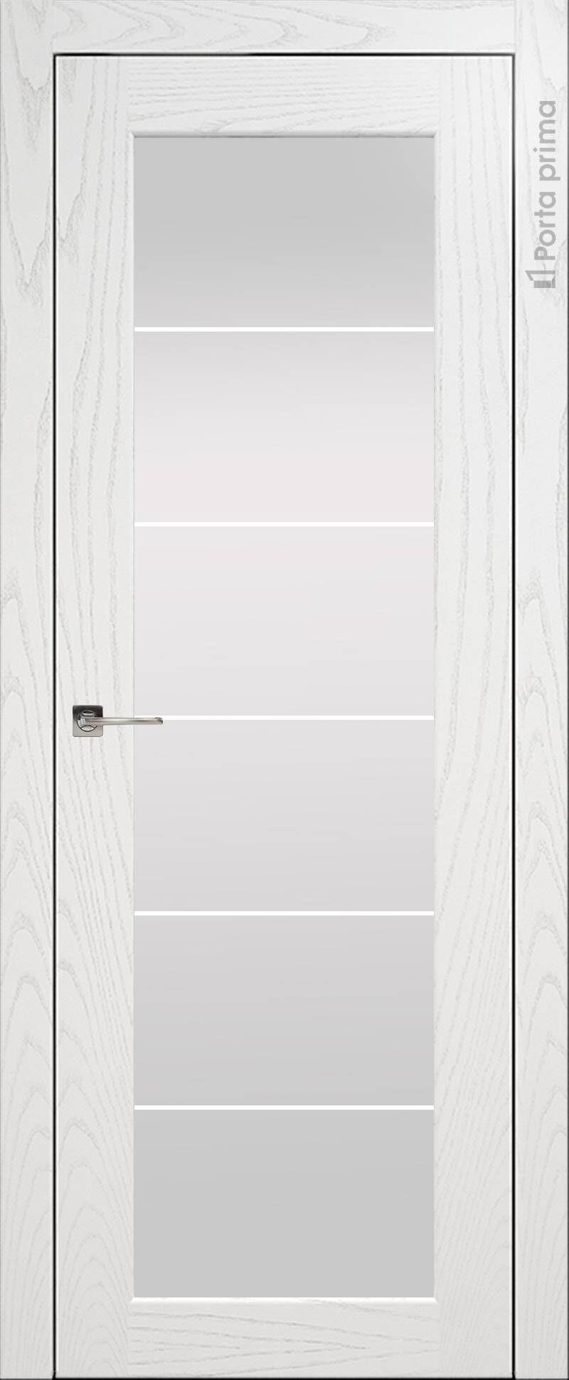 Sonata цвет - Ясень белая эмаль Со стеклом (ДО)