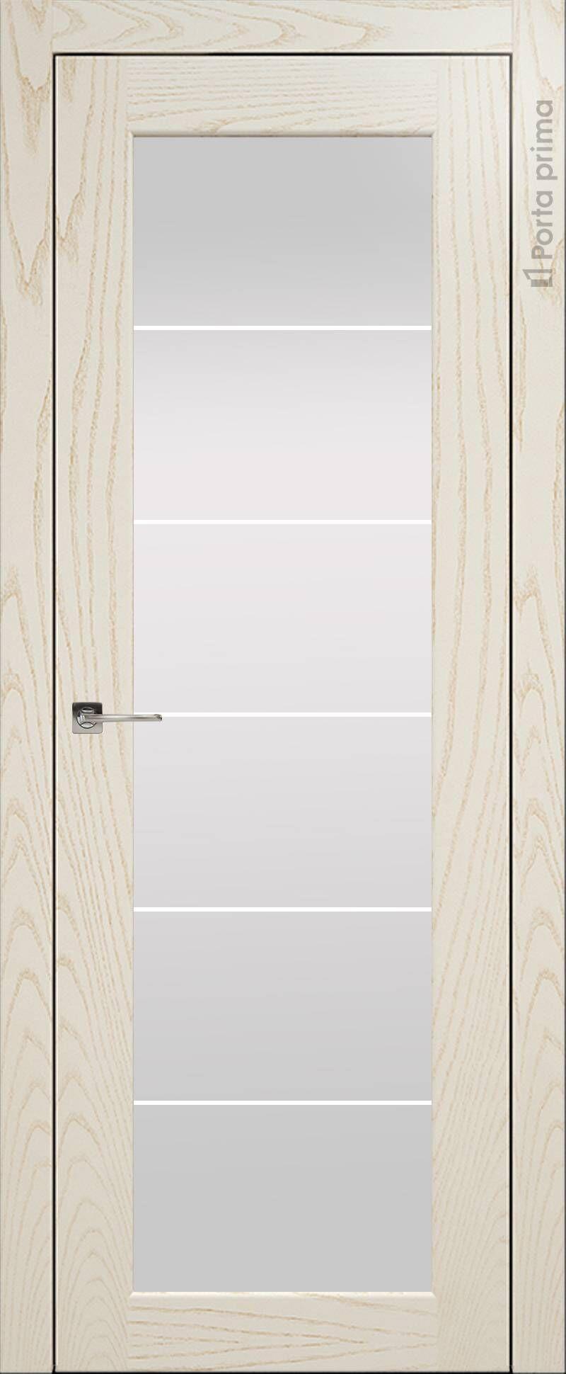 Sonata цвет - Ясень бежевая эмаль Со стеклом (ДО)
