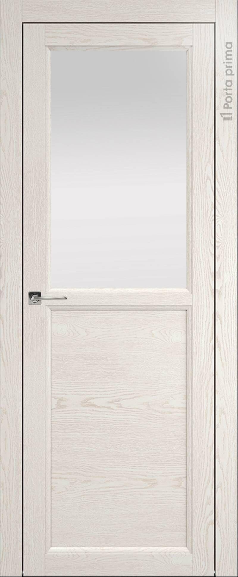 Sorrento-R Б1 цвет - Белый ясень (nano-flex) Со стеклом (ДО)