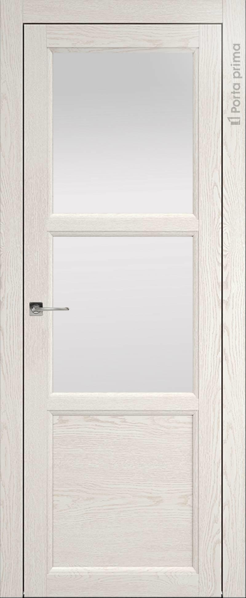 Sorrento-R Б2 цвет - Белый ясень (nano-flex) Со стеклом (ДО)
