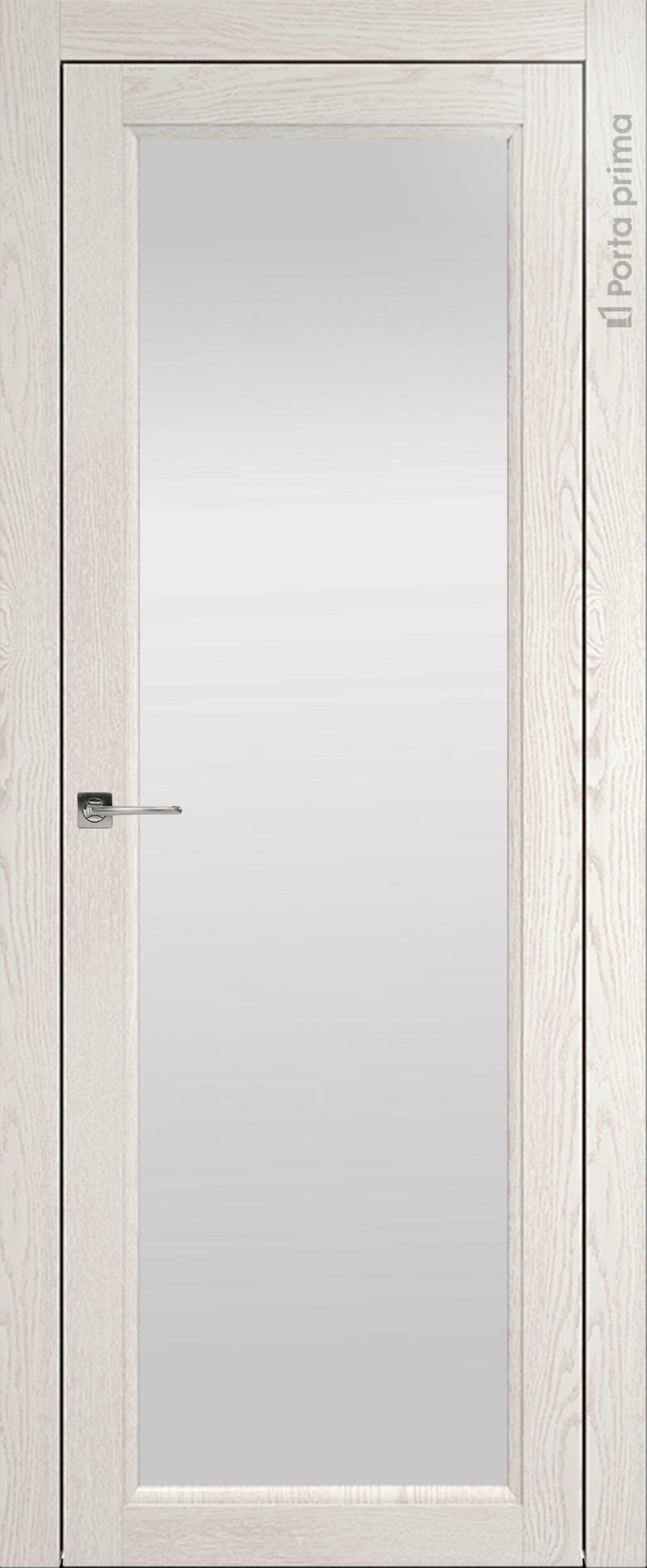 Sorrento-R Б4 цвет - Белый ясень (nano-flex) Со стеклом (ДО)