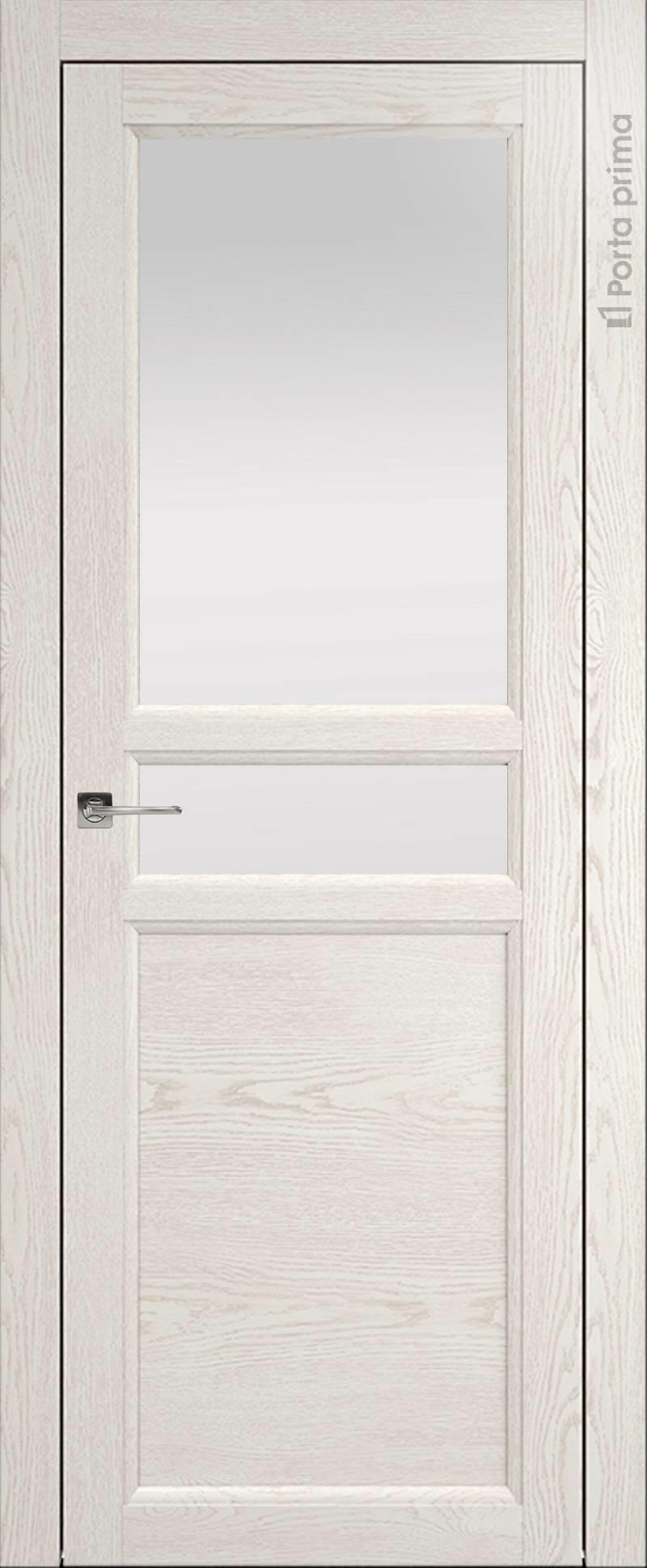 Sorrento-R Д2 цвет - Белый ясень (nano-flex) Со стеклом (ДО)