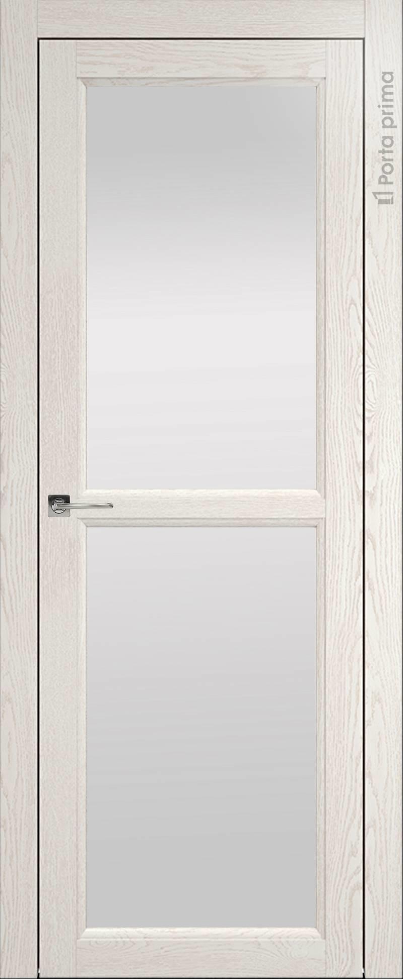 Sorrento-R В1 цвет - Белый ясень (nano-flex) Со стеклом (ДО)