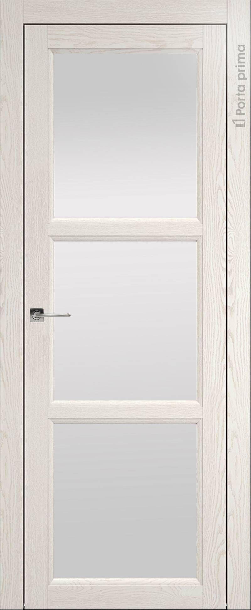 Sorrento-R В2 цвет - Белый ясень (nano-flex) Со стеклом (ДО)