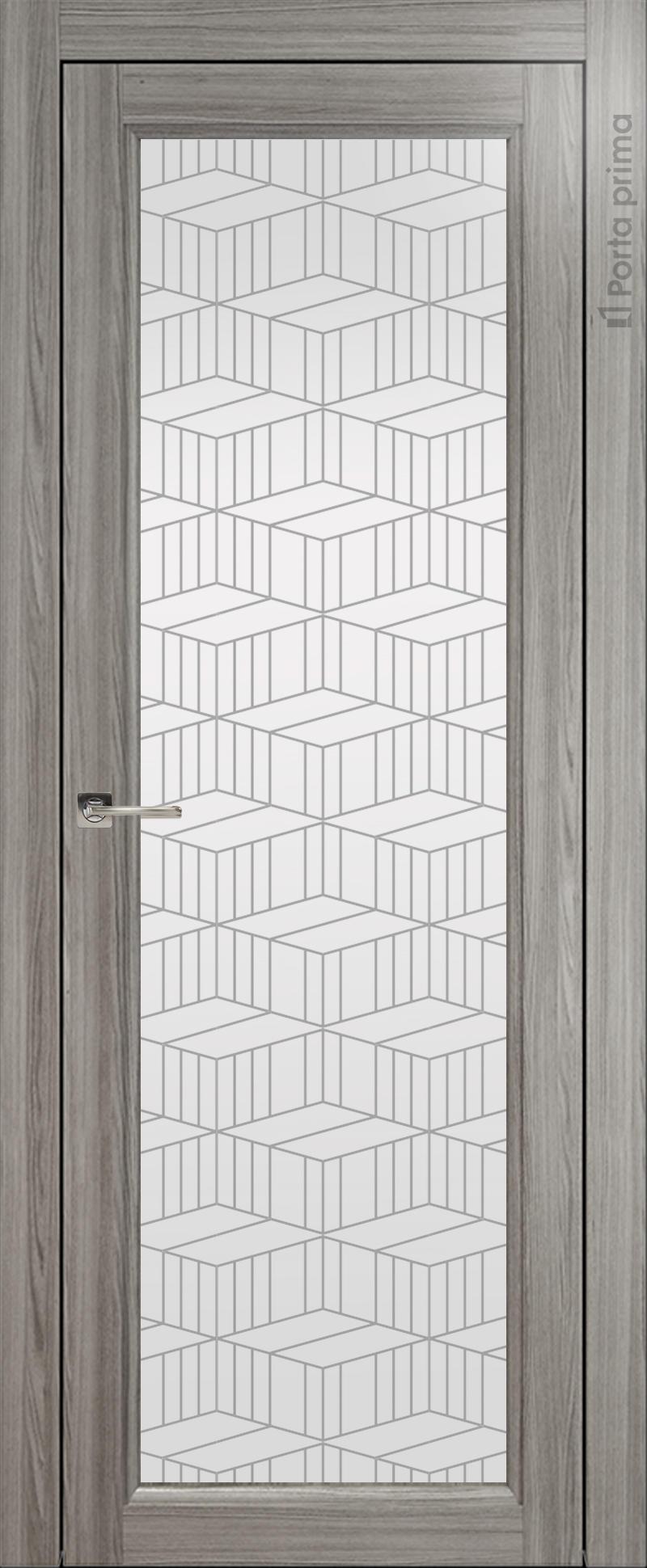 Sorrento-R В4 цвет - Орех пепельный Со стеклом (ДО)