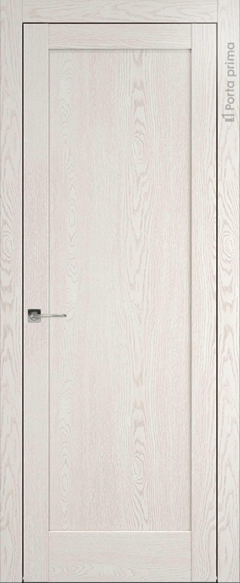 Strada цвет - Белый ясень (nano-flex) Без стекла (ДГ)