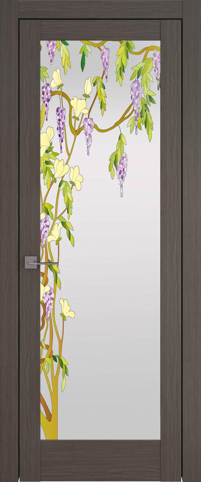 Strada цвет - Дуб графит Со стеклом (ДО)
