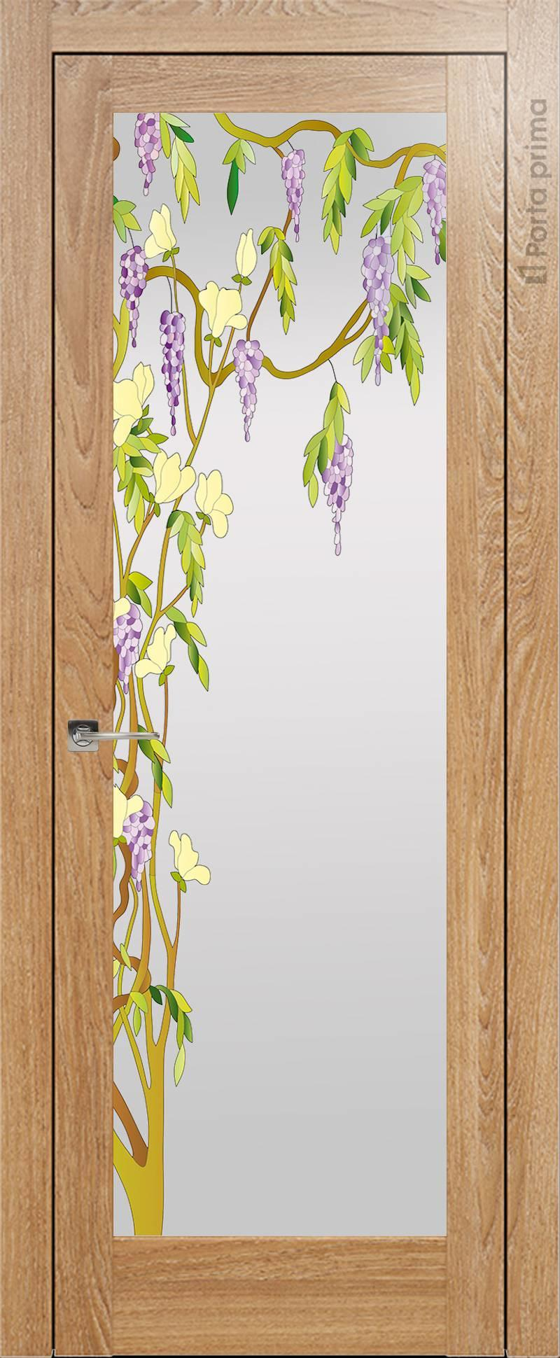 Strada цвет - Дуб капучино Со стеклом (ДО)