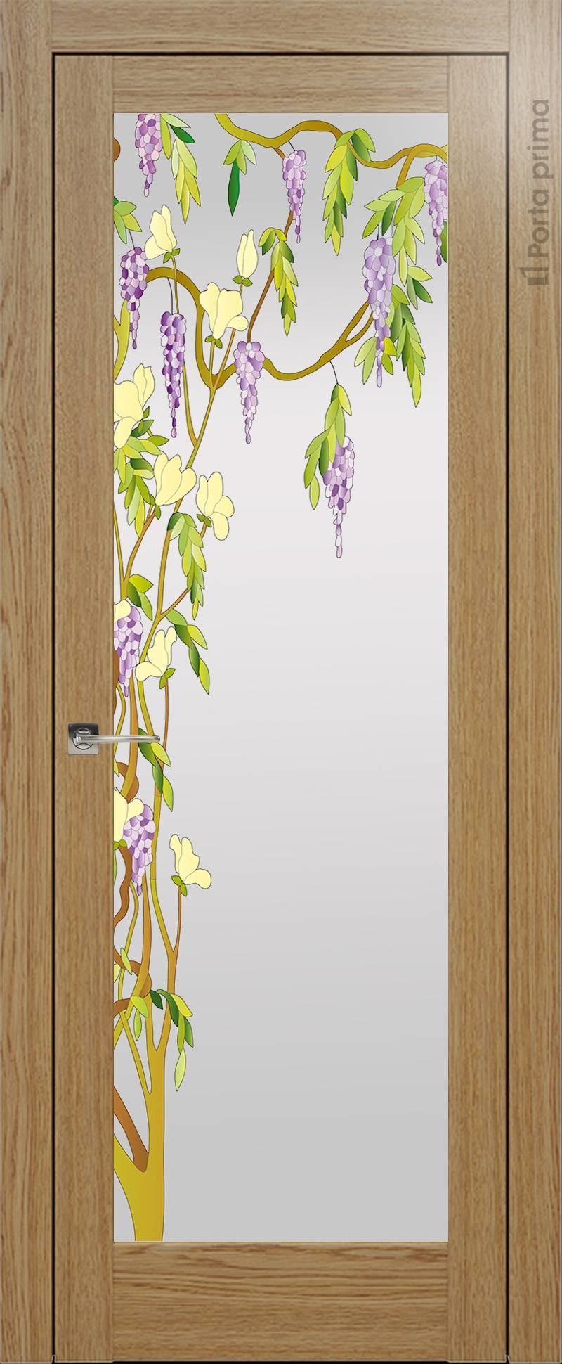 Strada цвет - Дуб карамель Со стеклом (ДО)