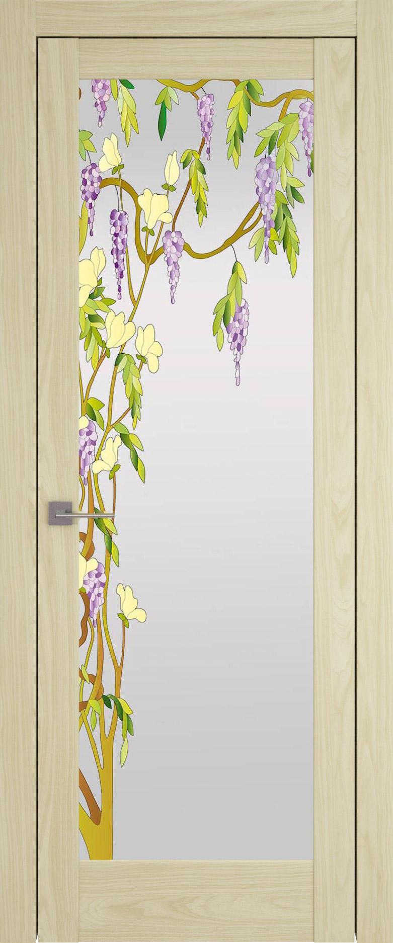Strada цвет - Дуб нордик Со стеклом (ДО)