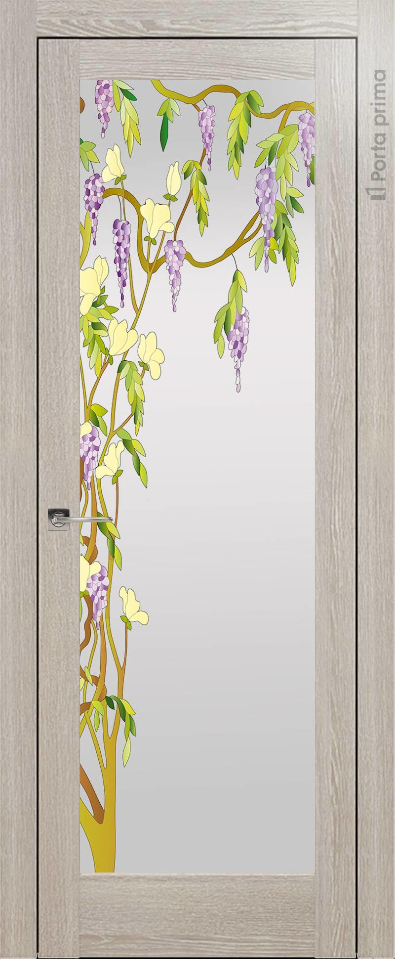 Strada цвет - Серый дуб Со стеклом (ДО)