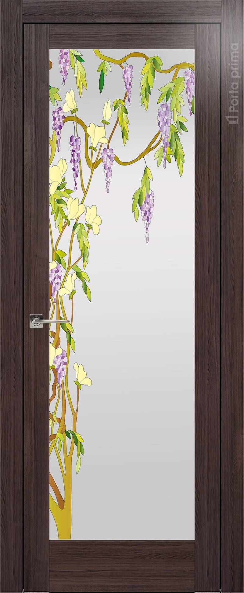 Strada цвет - Венге Нуар Со стеклом (ДО)