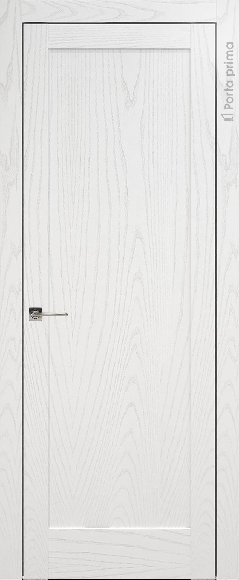 Strada цвет - Белый ясень (шпон) Без стекла (ДГ)