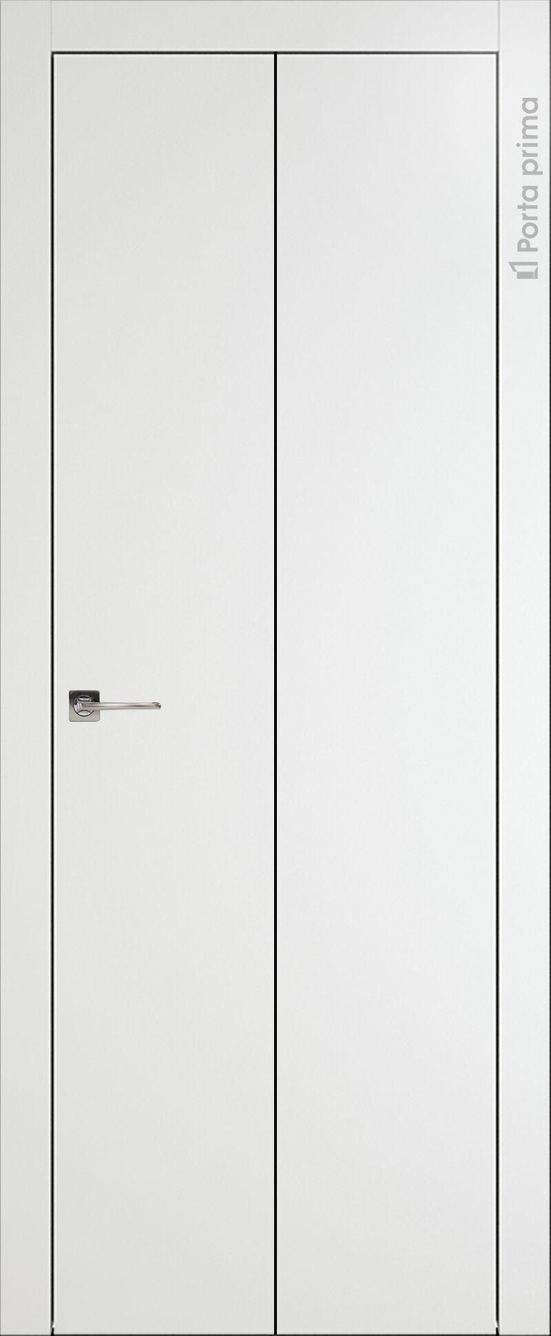 Tivoli А-1 Книжка цвет - Белая эмаль Без стекла (ДГ)