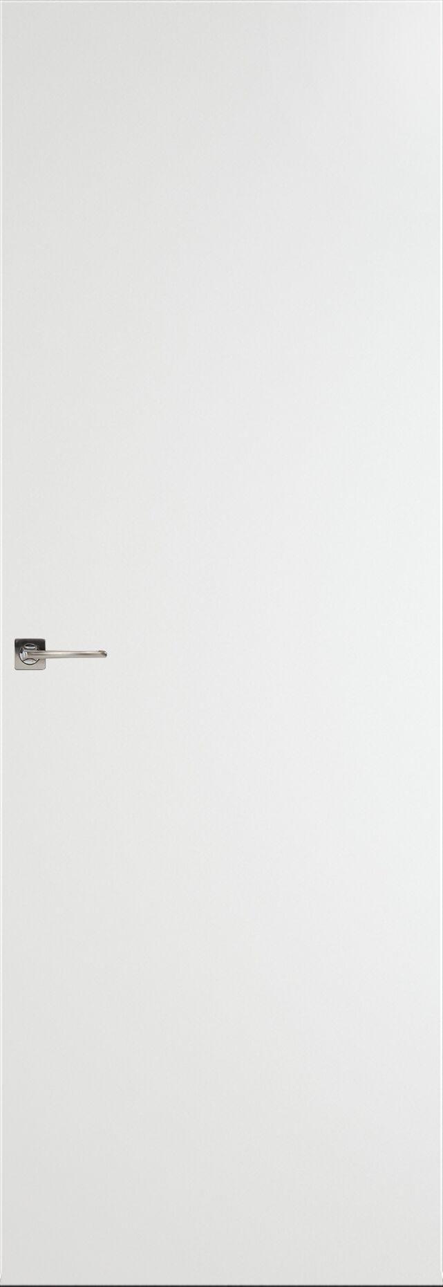 Tivoli А-1 Невидимка цвет - Белая эмаль Без стекла (ДГ)